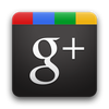 Google Plus logo.