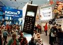Nokia'a 1011 cellphone at IFA 1993