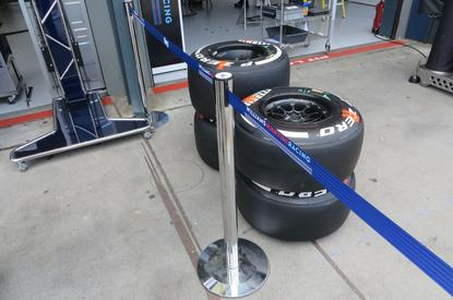 Williams has added a tyre optimisation app through a partnership with Avanade.