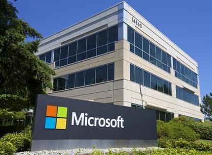 A building on Microsoft's Redmond, Washington campus