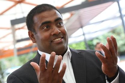 CSC Australia managing director Seelan Nayagam