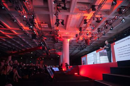 Larry Ellison delivers the Sunday keynote at Oracle OpenWorld 2013
