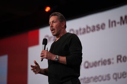 Larry Ellison, CEO, Oracle