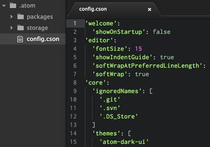 GitHub's new Atom text editor