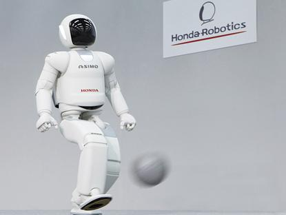 Honda's latest ASIMO robot