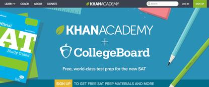 The Khan Academy will soon offer free SAT prep based on the redesigned exam.