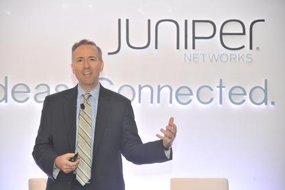 Juniper Networks senior vice president of strategy, Mike Marcellin, in Singapore. Credit: Juniper