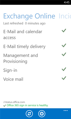 Office 365 admins now have a mobile app to monitor apps' system status and tweak settings