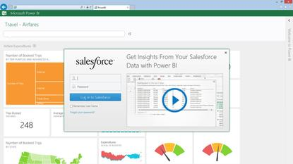 Salesforce's software will soon be tied into Microsoft's Power BI, in just one result of the companies' partnership.