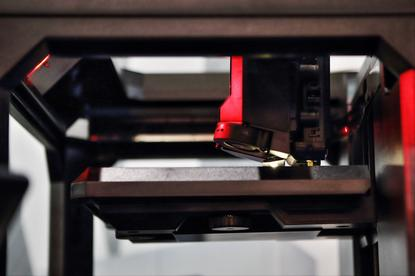 A 3D printer from Stratasys 3D