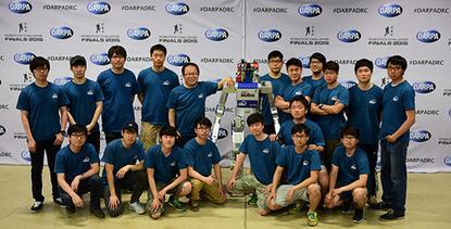 South Korea's Team Kaist won the DARPA Robotics Challenge on June 6, 2015