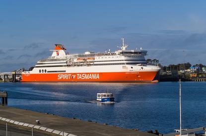 Spirit of Tasmania Ferry, Devonport