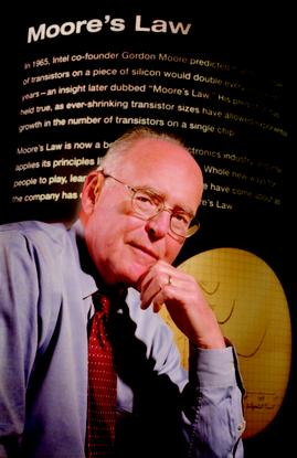 Intel co-founder Gordon Moore (1)