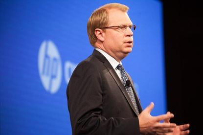 John Hinshaw, HP's head of Technology and Operations