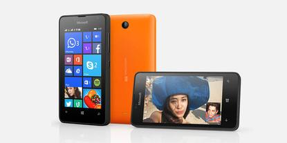 The new Lumia 430.