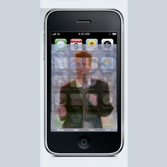 The Ikee worm exploits a default password setting in SSH for the iPhone to replace the wallpaper with a pic of Rick Astley