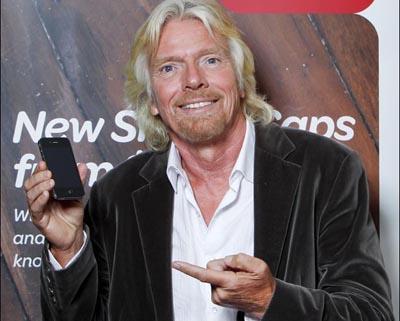 Virgin Group founder, Sir Richard Branson.