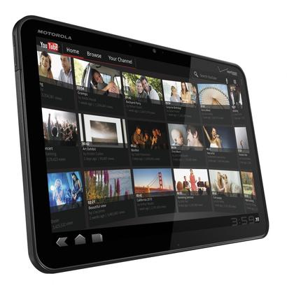The Motorola Xoom tablet.