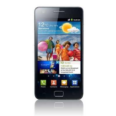 Samsung Galaxy S II mobile phone