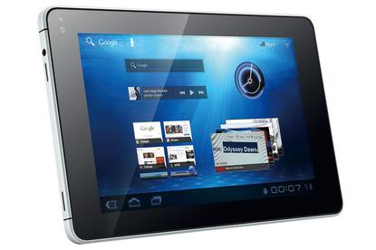 The original Huawei MediaPad Android tablet has been upgraded