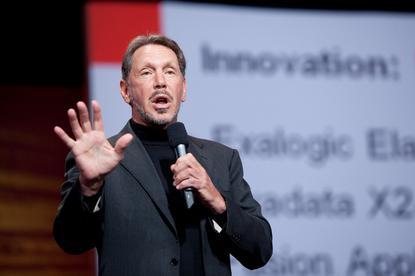 Oracle chief, Larry Ellison