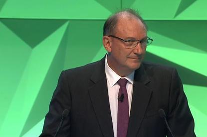 John Mullen at Telstra's AGM