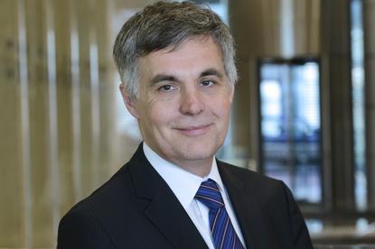 NBN Co's new CEO, Stephen Rue.