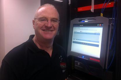 TasWater ICT manager David Byrne.