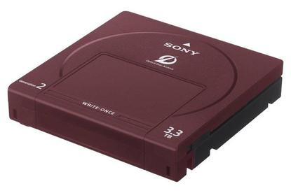 Sony's Optical Disc Archive drive supports 3.3TB discs. Credit: Sony