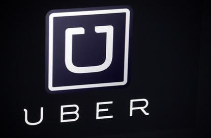 Uber's logo