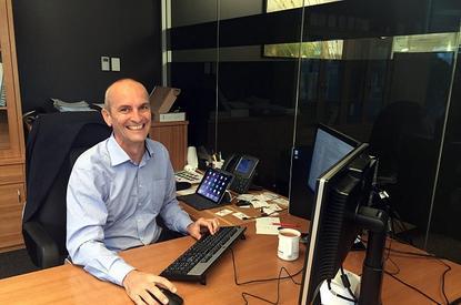 eHealth Queensland CEO and CIO Colin McCririck.