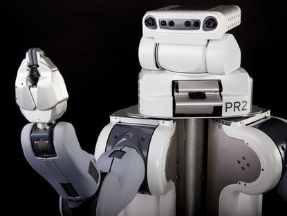 The PR2 Robot from Willow Garage