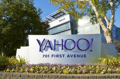 Yahoo Corporate building in the daytime