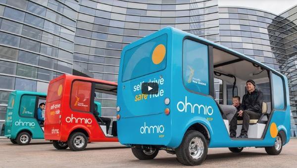 Ohmio Shuttles in Neuseeland