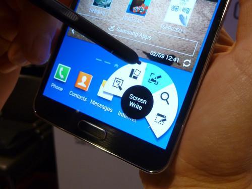 Samsung's Galaxy Note 3 smartphone