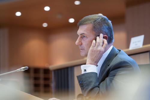 Andrus Ansip, designate Commissioner for digital single market, interviewed by the European Parliament