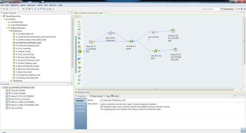 Informatica 9.6 provides interfaces for the business and the IT department.