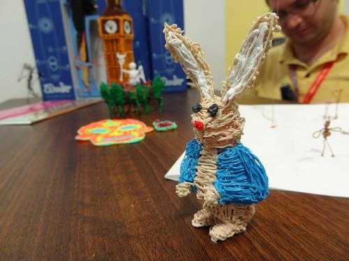 A object made with the 3Doodler at the IFA consumer electronics show in Berlin. The gadget is on presale for US$99.