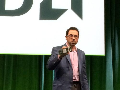 Andrew Feldman shows AMD's first 64-bit ARM processor