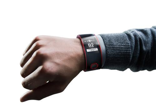 Nissan Nismo watch shown on wrist