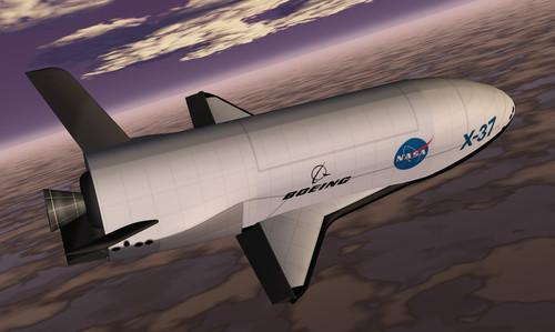 The X-37 as it might have looked should the project have continued under NASA
