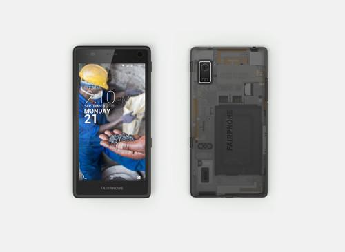 The Fairphone 2 has a 5-inch, full HD screen and is powered by a Snapdragon 801 processor