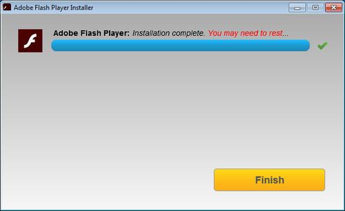 Flash Player installation