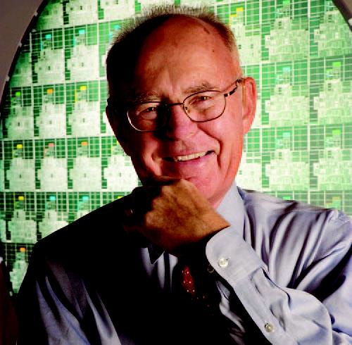 Intel co-founder Gordon Moore