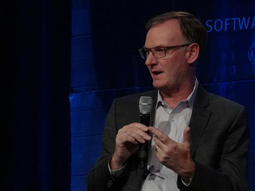 David Goulden, CEO of EMC's Information Infrastructure Business, spoke on Tuesday at EMC World 2014 in Las Vegas.
