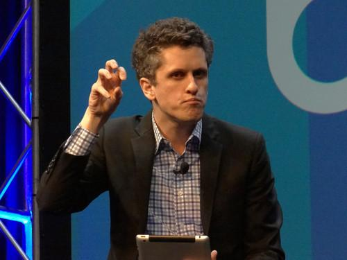 Box Co-Founder and CEO Aaron Levie spoke on Wednesday at the Box Dev, the company's developer conference, in San Francisco.