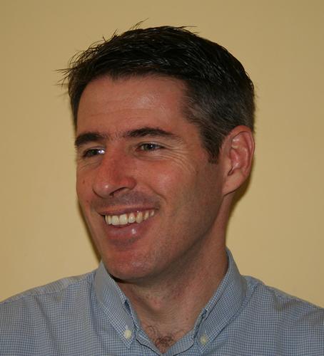 OSIA board member Damian Hickey