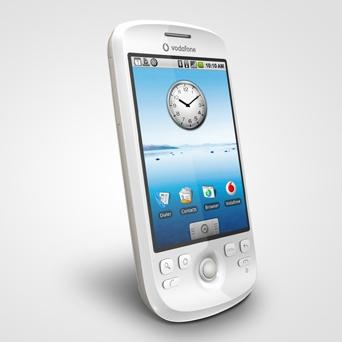 The HTC Magic phone does away with the slide-out keyboard in favour of a touchscreen-only interface