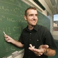 Chris Tisdell teaching