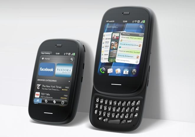 The webOS-based HP Veer is smaller than the Pre3 and aimed at consumers